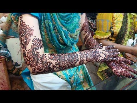Mehndi Designs Churidar : Bridal mehndi designs video dailymotion