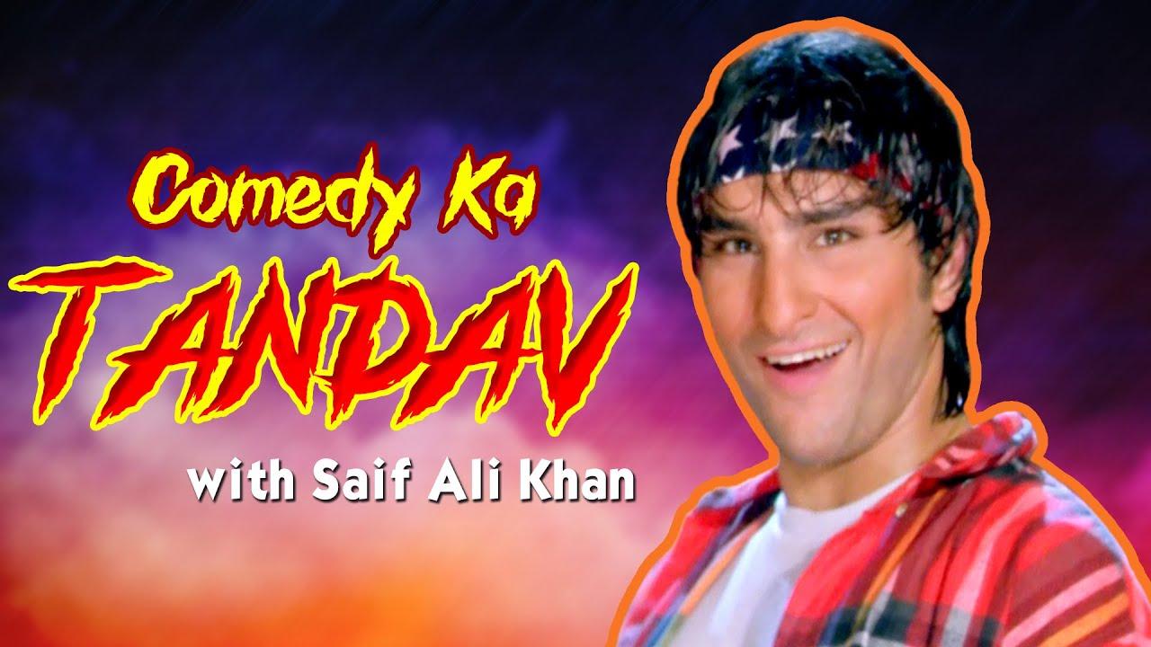 Comedy Ka Tandav With Saif Ali Khan | Best of Scenes | Superhit Movie Hum Se Badkar Kaun