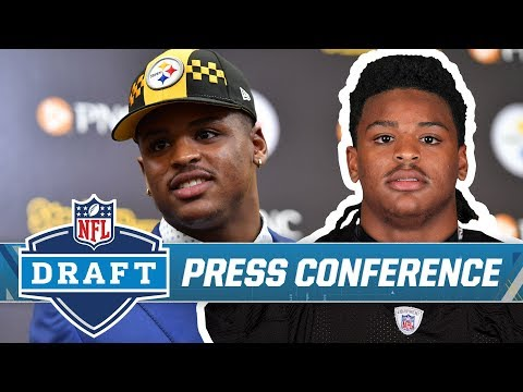 Devin Bush's Introductory Press Conference | Pittsburgh Steelers