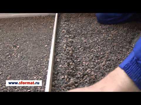 видео: Как сделать сухую стяжку на лоджии.