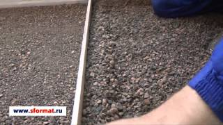 Как сделать сухую стяжку на лоджии.(В видео показывается и расказывается как выполнить монтаж сухой стяжки на лоджии. Ремонт пола на лоджии., 2013-05-10T16:06:31.000Z)