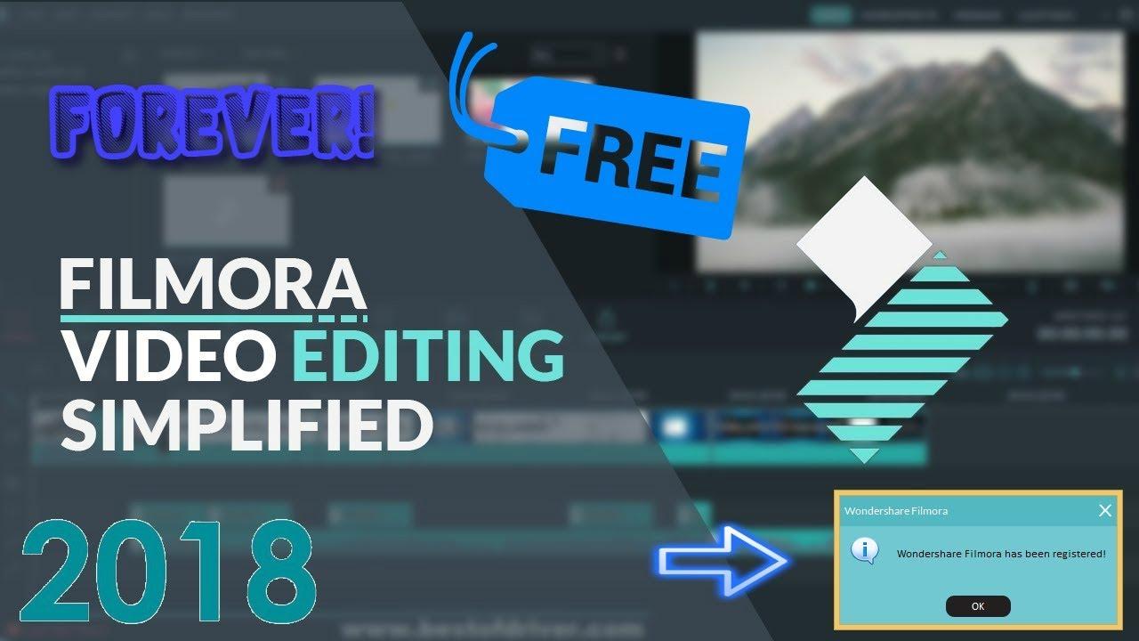 how to get filmora premium for free