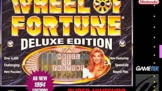 JD Venom Plays: Wheel Of Fortune: Deluxe Editon (SNES)