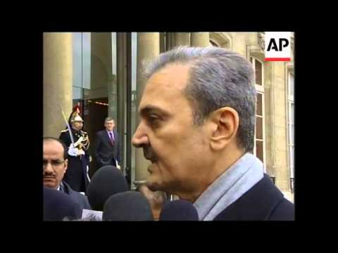 Saudi FM meets with French President Chirac for talks