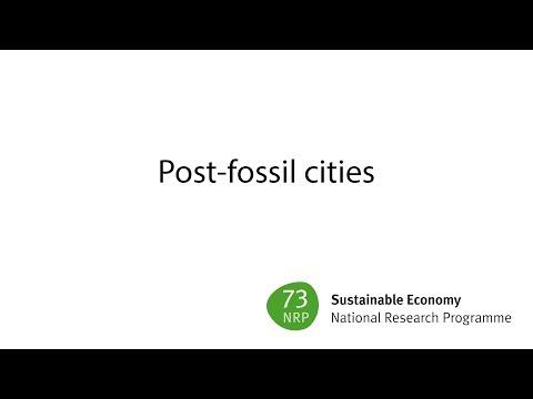 Wäger - Post‐fossil cities