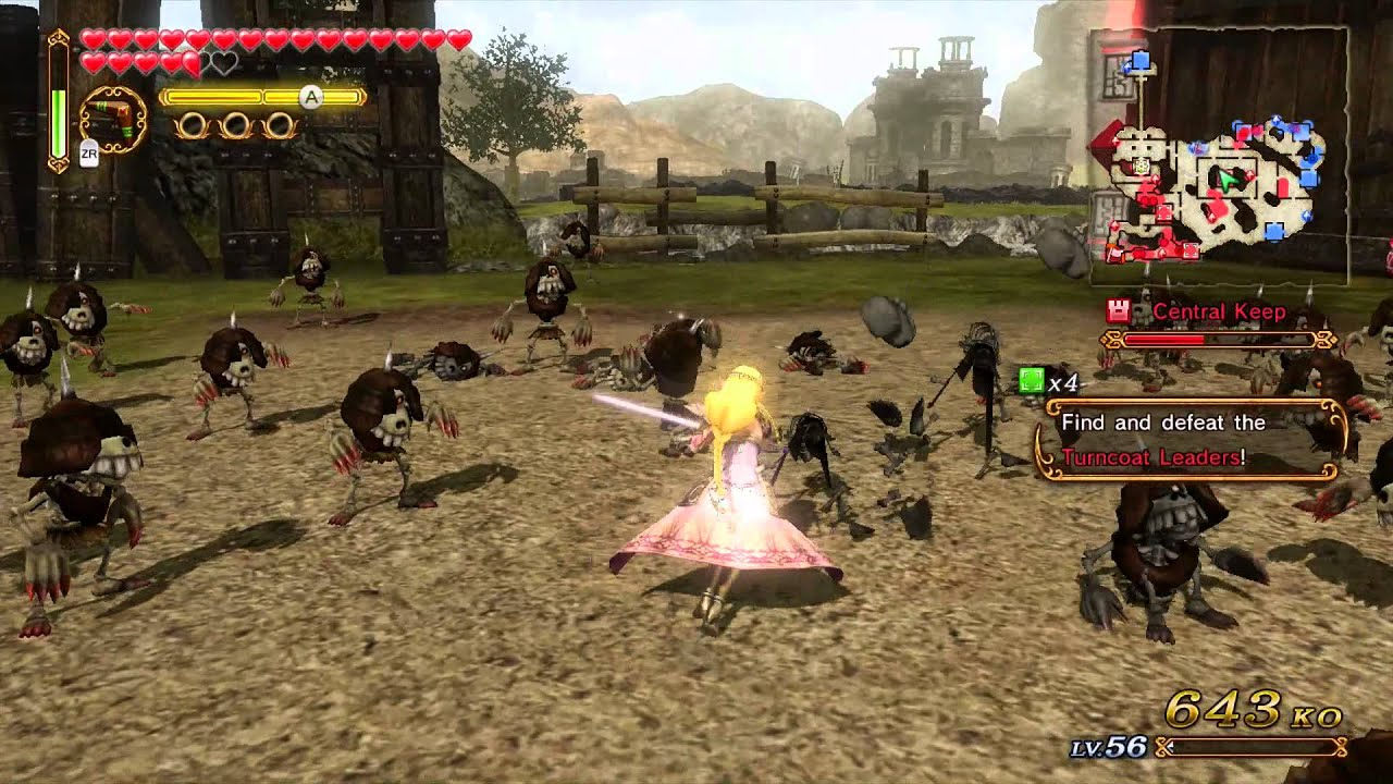 Hyrule Warriors Impa 8 Bit Star Weapon Mission A Rank Youtube
