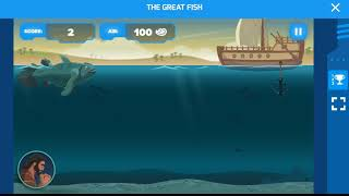 Super Book| Kids Bible App(The Great Fish ||Game Play) screenshot 5