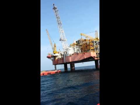 Offshore platform Oyong Maleo