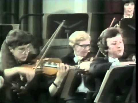 Maurice Hasson Paganini Violin Concerto No.1 - 1st movement (part 1 of 2)