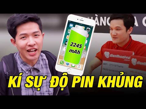 Kí sự độ pin KHỦNG cho iPhone !