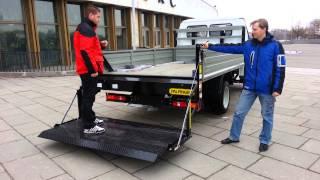 Гидроборт(Новый гидравлический борт для легкого коммерческого транспорта с бортовой платформой., 2014-03-18T16:56:44.000Z)
