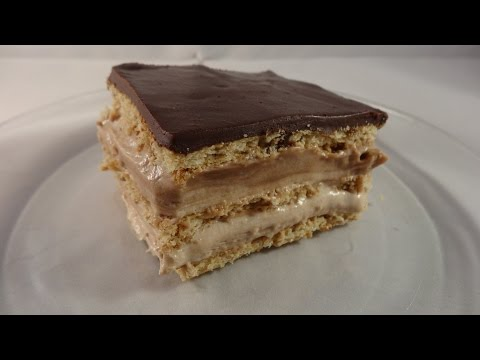 "Nutella Eclair ""Cake"" (ice box cake) - with yoyomax12"