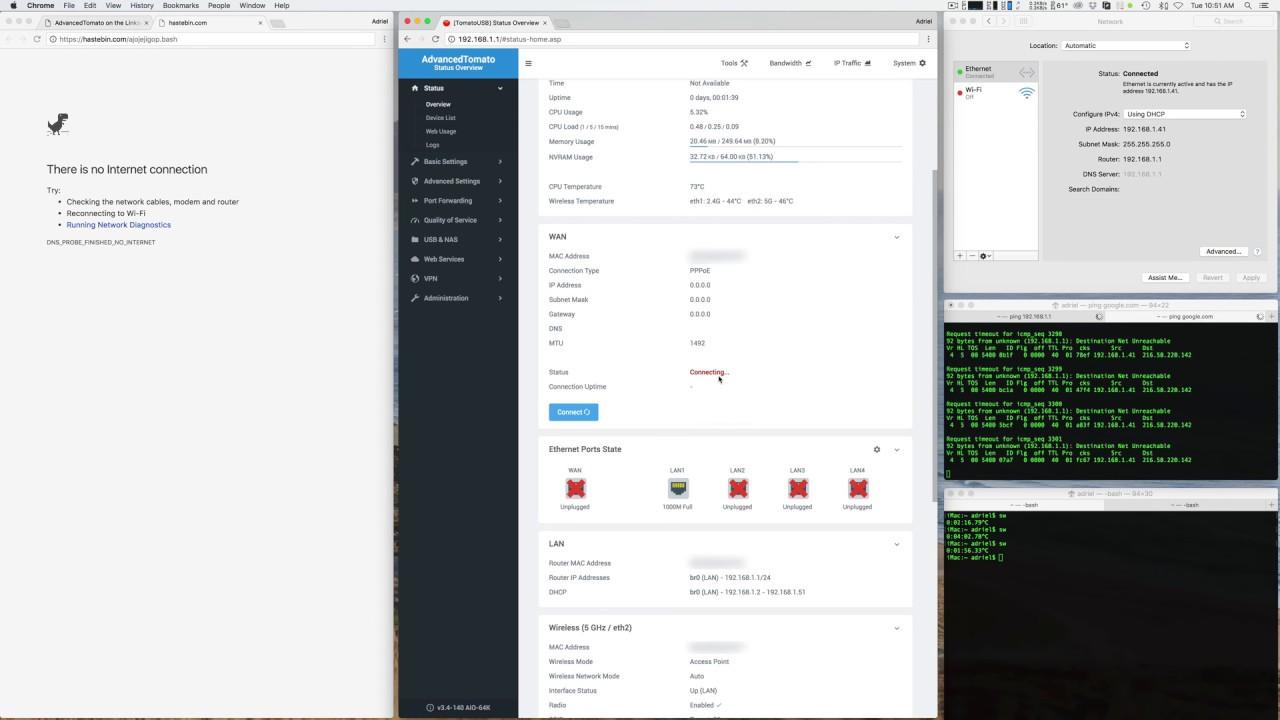 Install AdvancedTomato on the Linksys EA6700