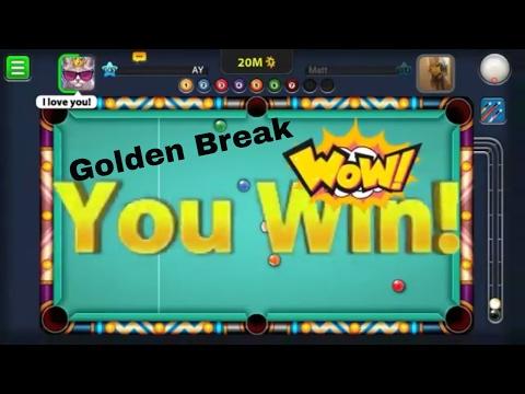 9 Ball Pool Golden Break & Berlin Hacker Destroyed