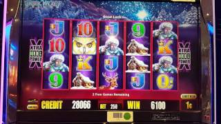 TIMBERWOLF Deluxe Slot Big Win Bonus
