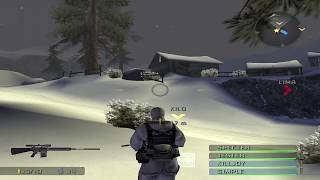 "SOCOM Combined Assault Mission 1 ""Winterblade"" Admiral 100%"