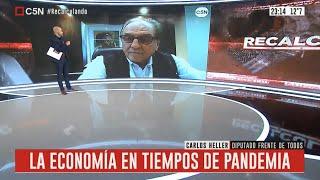 24-06-2020  Carlos Heller en C5N - Recalculando con Julián Guarino - Economía en tiempos de pandemia