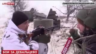 Мощный удар ДНР по  позициям ВСУ под Дебальцево 31 01 Донецк War in Ukraine