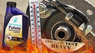 Petronas Tutela Transmission Matryx 75W85 Jak skutecznie olej przekładniowy chroni skrzynie? 100°C