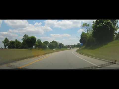 Driving around the West side of Cleveland, Ohio