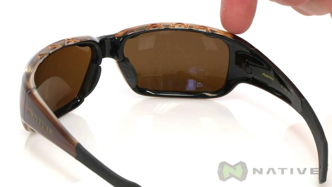 cfb9926cd1 Native Eyewear Bolder Polarized SKU  7657517 - YouTube