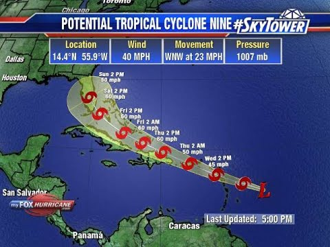 Tropical Storm Isaias likely to form today; Florida in forecast cone