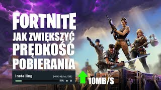 HOW TO INCREASE THE DOWNLOAD SPEED FORTNITE-FORTNITE SLOW DOWNLOAD FIX! HOW TO FIX!