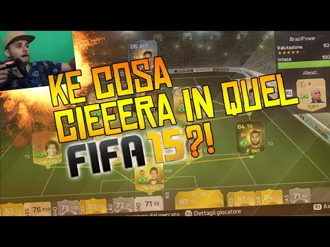 KE COSA CIEEERA NEL MIO FIFA15?!