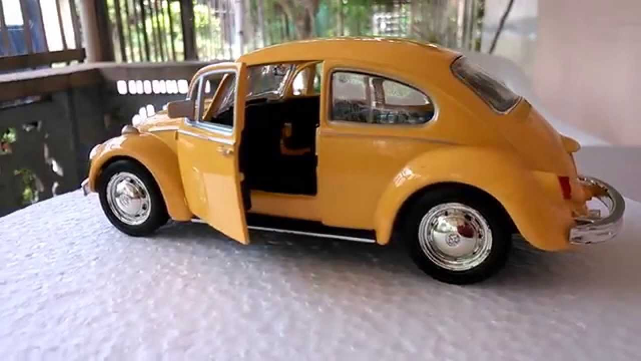 Vintage Volkswagen Beetle - Diecast Model Car - FunToys4Kids - YouTube