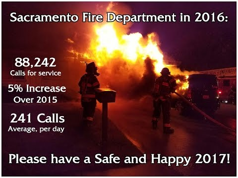 2016 Sacramento Fire Department Year in Review
