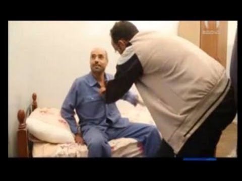 Behind camera Saif Al Islam interview