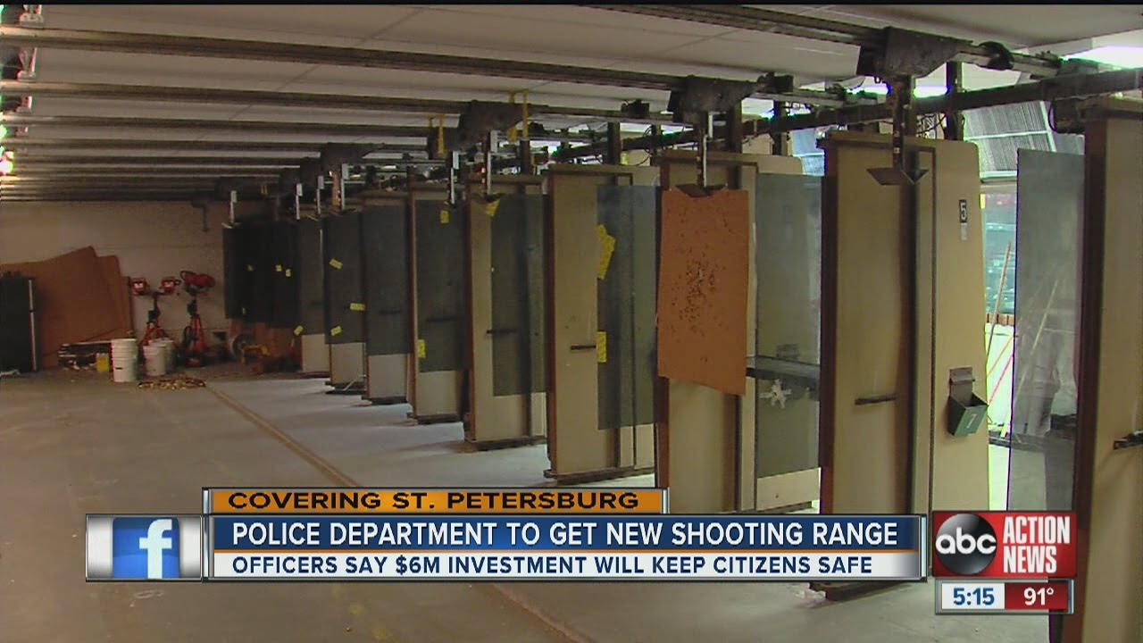 St  Pete Police Department to get new shooting range