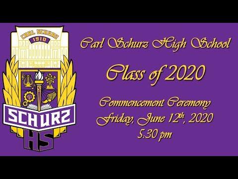 Schurz High School 2020 Commencement