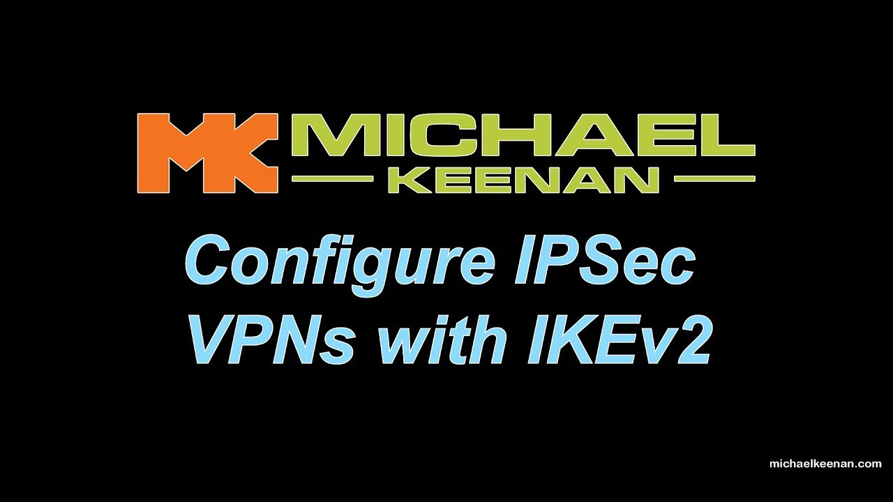 Configure IPSec VPNs with IKEv2 using Two Cisco ASA's and a