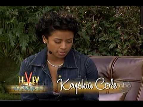 Keyshia Cole- Interview on the View
