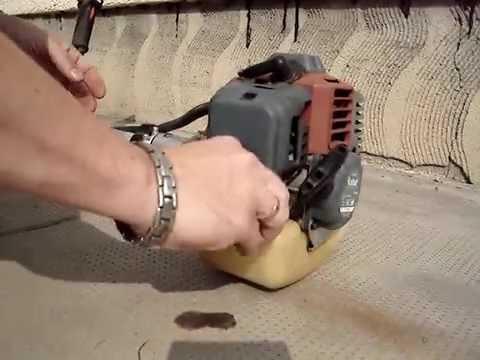 Fűkasza gyújtótekercs javítás