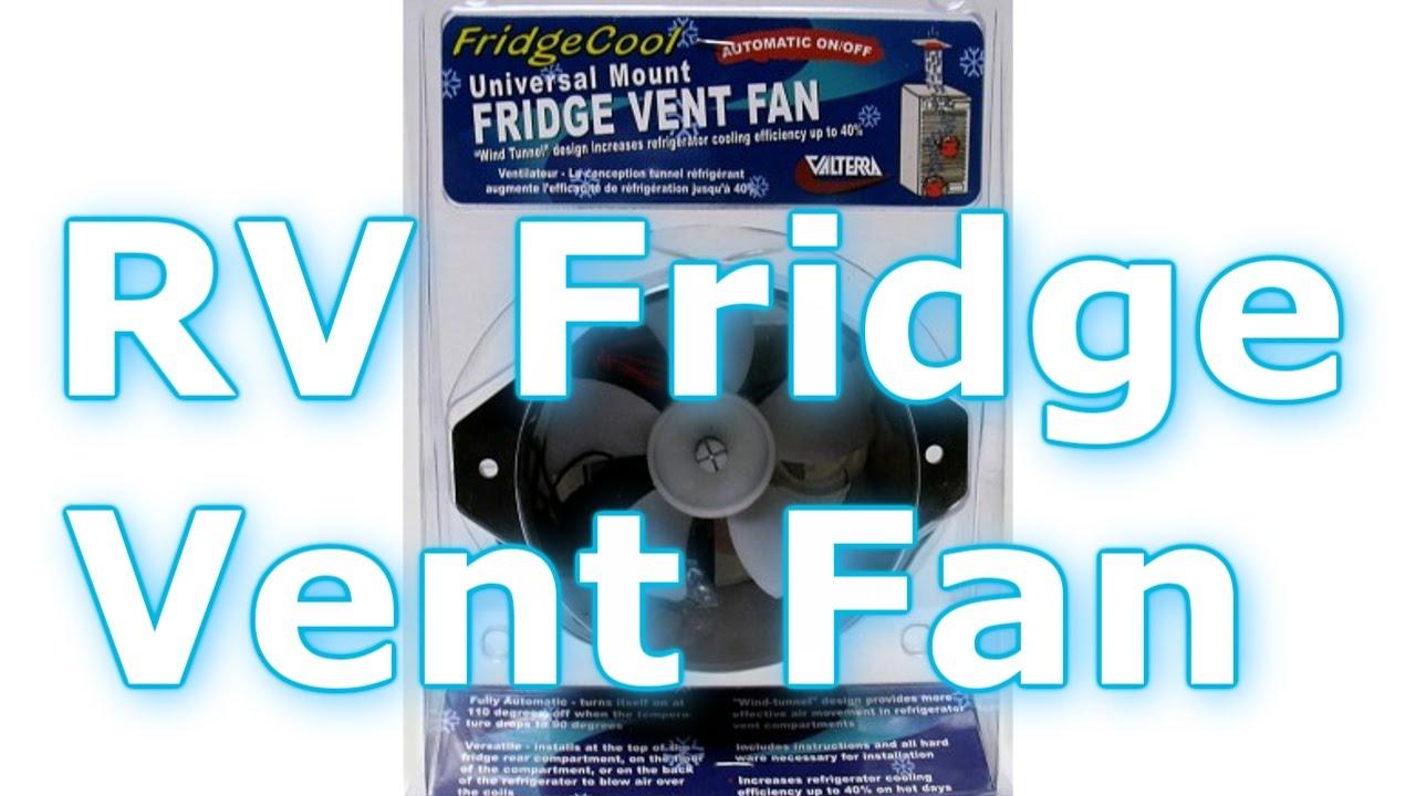 RV Fridge Vent Fan