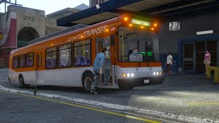 Los Santos Goes to Work - Day 25 - City Bus Driver