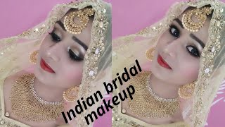 INDIAN BRIDAL MAKEUP LOOK ||MUSLIM BRIDAL MAKEUP LOOK