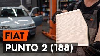 FIAT PUNTO (188) Öljynsuodatin asennus : ilmainen video
