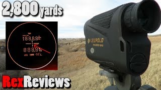 Ranging 2,800 yds for $500?  Leupold RX-2800 Rangefinder ~ Rex Reviews
