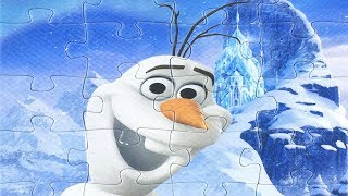 Frozen Puzzles For Toddlers Olaf пазлы холодное сердце rompecabezas frozen 冰雪奇缘 拼图 アナと雪の女王 パズル