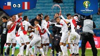 Perú baila a Chile y es finalista | Chile 0 - 3 Perú | Copa América Semifinal | Televisa Deportes