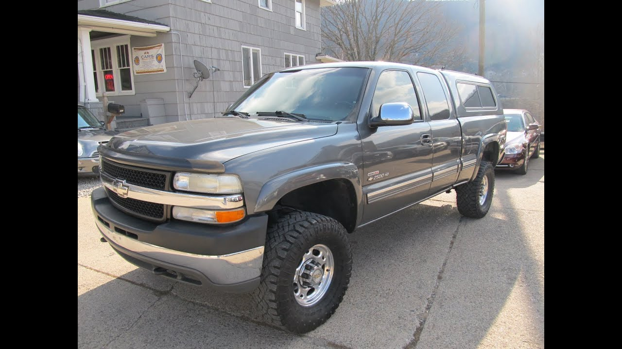 Chevy 2500 Diesel For Sale >> 2002 Chevrolet Silverado 2500 4x4 LB7 Duramax Diesel Elite Auto Outlet Bridgeport Ohio - YouTube