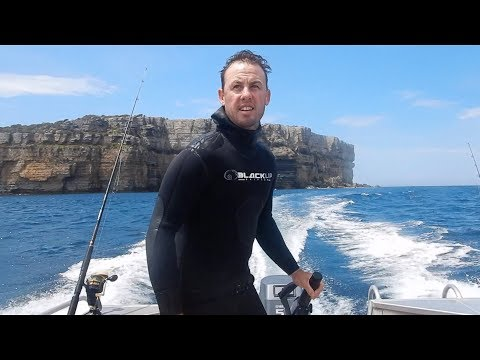 A boat camping, spearfishing adventure, Jervis Bay N.S.W. Australia