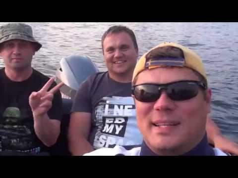 Рыбалка на Чебоксарском водохранилище летом 2018г - YouTube