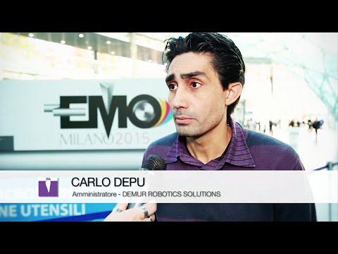 EMO 2015 - Intervista a Carlo Depu - DEMUR ROBOTICS SOLUTIONS