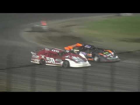IMCA Late Model Heat 4 Davenport Speedway 9/21/18