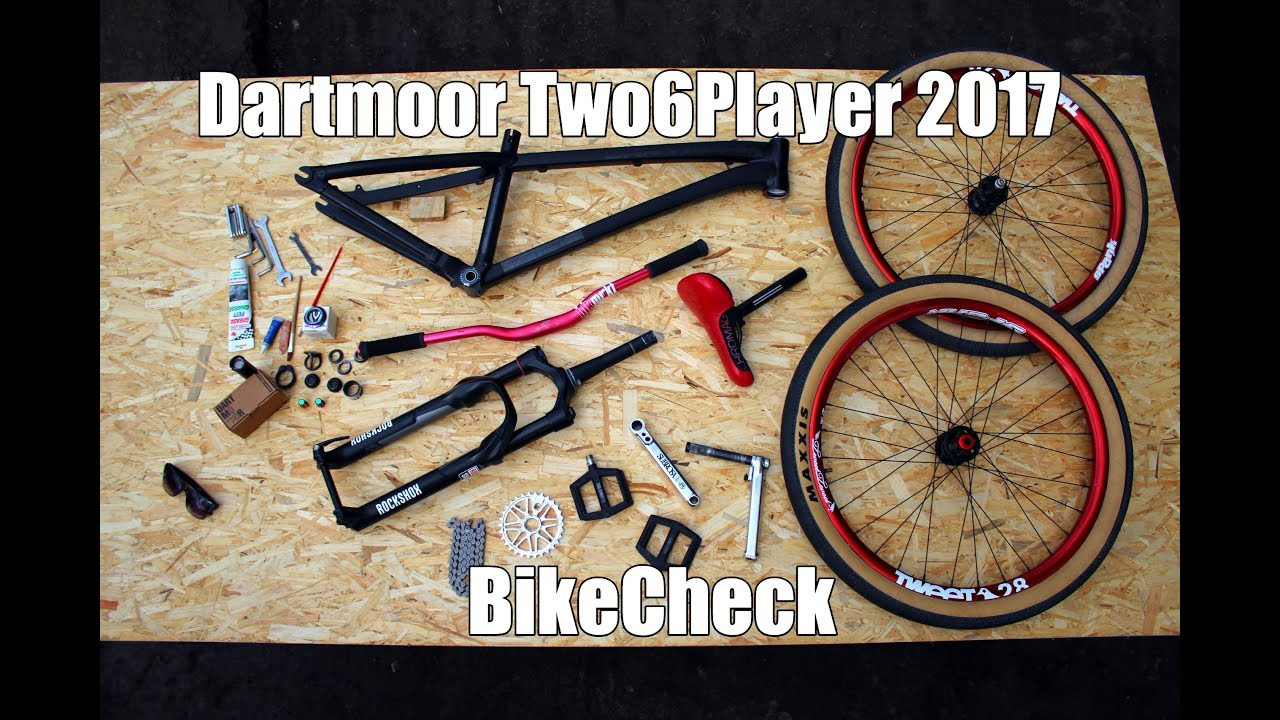 Dartmoor Two6Player 2017 bike check by Artem Efimchuk - YouTube