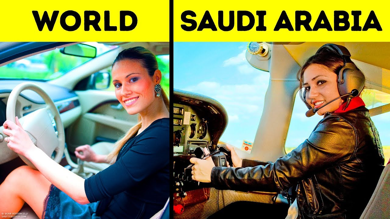 30 einzigartige Dinge, die nur in Saudi-Arabien passieren + video